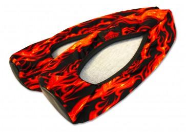 Shoe Covers Flammen Überziehschuh