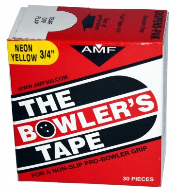 """Tapes 3/4"""" (30) neongelb AMF Tapes"""