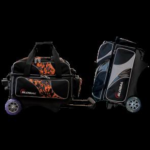 Double Deluxe Roller mit Schuhfach 900 Global
