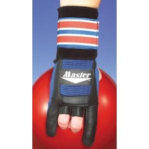 Handschuh Wrist Glove Deluxe Master, blau/schwarz, mit Metallverstärkung