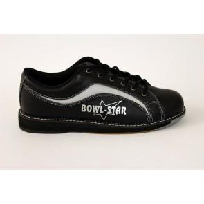 Mesh, RH, schwarz/silber Bowlingschuhe, Leder
