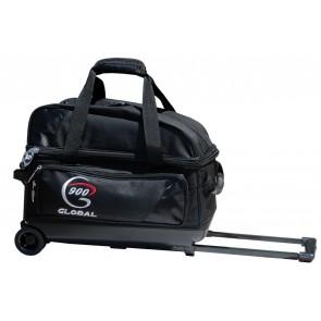 Double Value Roller mit Schuhfach, schwarz 900 Global
