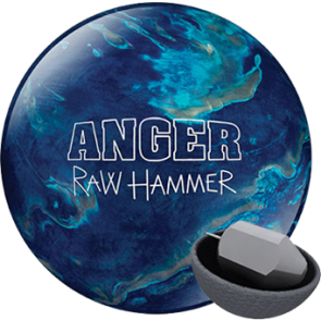 Raw Hammer Anger 15 lbs. blue/silver